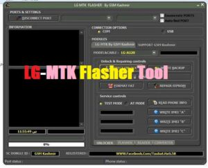 LG MTK Flasher Tool Full Working Free Download