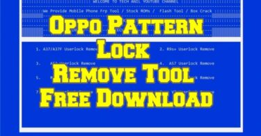 Oppo Pattern Lock Remove Tool Free Download (1)