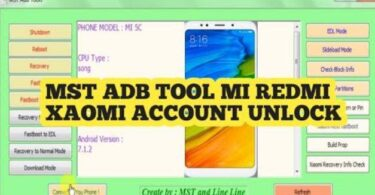 Mst Adb Tool Mi Xiaomi Redmi All In One Tool