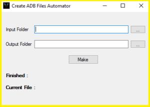 Samsung ADB Enable File Maker Automator Free Download