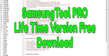 SamsungTool PRO Life Time Version Free Download