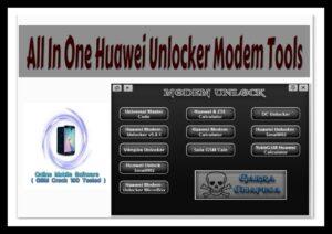 All In One Huawei Unlocker Modem Tool