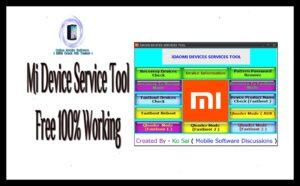 Xiaomi MI Device Service (Updated) Tool