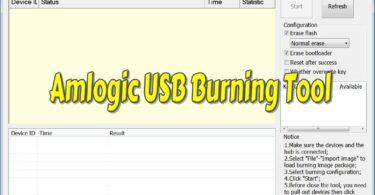 Amlogic USB Burning Tool