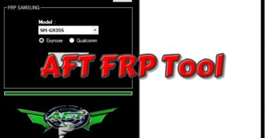 AFT FRP Tool New Version Tested