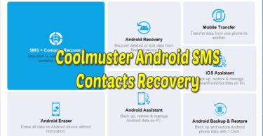 Coolmuster Android SMS + Contacts Recovery Tool