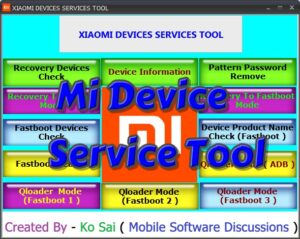 Download Mi Device Service Tool