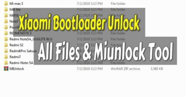 Xiaomi Bootloader Unlock All Files Miunlock Tool