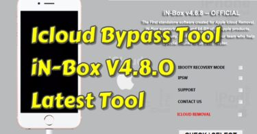 iCloud Bypass Tool iN-Box V4.8.0 Latest Tool