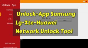 Unlock-App Samsung-Lg-Zte-Huawei Network Unlock Tool