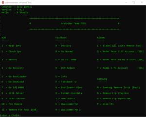 Arab Dev Team Tool Pro Best Unlock Tool