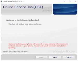 Nokia-Online-Service-Tool