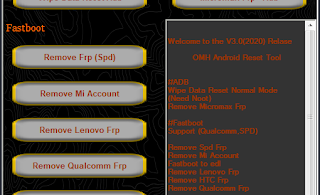 OMH Android Frp Reset Tool V3.0 (Portable Version) Free Download
