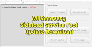 MI Recovery Sideload Service Tool Update Download