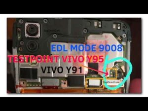 VIVO Y91 Y95 EDL Test Point:-