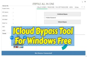ICloud Bypass Tool For Windows Free