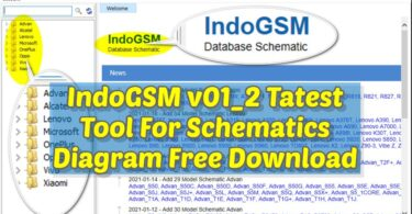 IndoGSM v01_2 Tatest Tool For Schematics Diagram Free Download