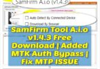 SamFirm Tool A.i.o v1.4.3 Free Download | Added MTK Auth Bypass | Fix MTP ISSUE