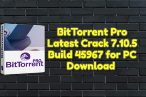 BitTorrent Pro Latest Crack 7.10.5 Build 45967 for PC Download