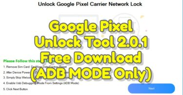 Google Pixel Unlock Tool 2.0.1 Free Download (ADB MODE Only)