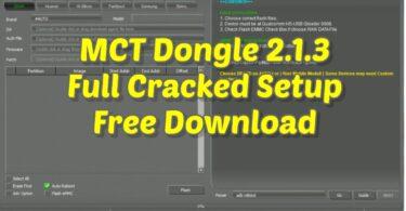 MCT Dongle 2.1.3 Full Cracked Setup Free Download