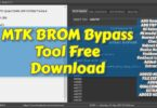MTK BROM Bypass Tool Free Download