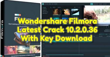 Wondershare Filmora Latest Crack 10.2.0.36 With Key Download