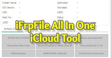 iFrpFile All In One iCloud Tool