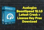 Auslogics BoostSpeed 12.1.0 Latest Crack + License Key Free Download