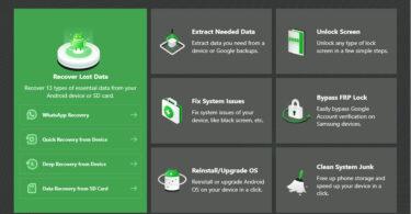 Mobie DroidKit Screen Lock FRP Whatsapp Recovery More
