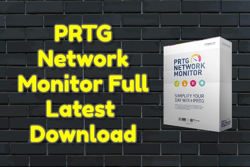 PRTG Network Monitor 21.2.68.1492 Full Latest Crack Download