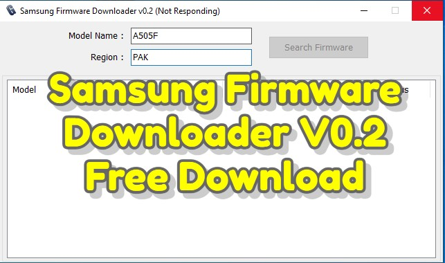 Samsung Firmware Downloader V0.2 Free Download