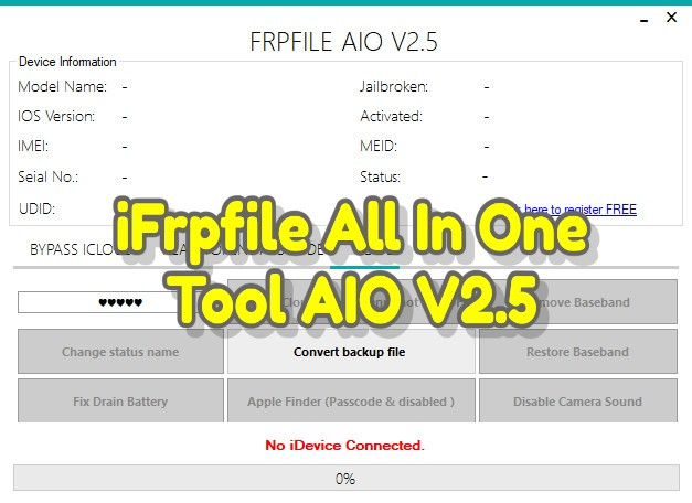 iFrpfile All In One Tool AIO V2.5