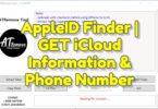 AppleID Finder _ GET iCloud Information & Phone Number