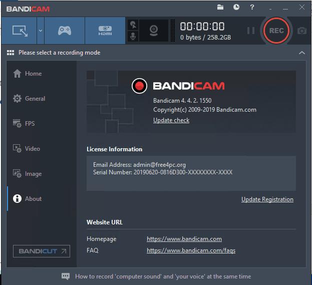 Bandicam Latest Crack 5.2.1.1860 With Full Version Crack Free Download