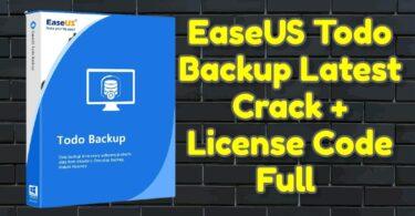 EaseUS Todo Backup Latest Crack 13.5.0 + License Code Full