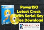 PowerISO Latest Crack 8.0 With Serial Key Free Download