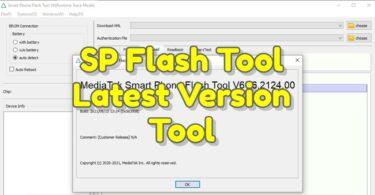 SP Flash Tool v6.2124 Latest Version
