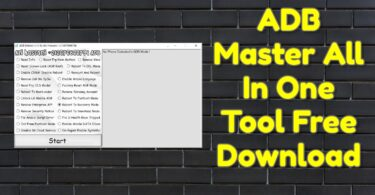 ADB Master All In One Tool Free Download