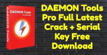 DAEMON Tools Pro 8.3.0.0767 Full Latest Crack + Serial Key Free Download