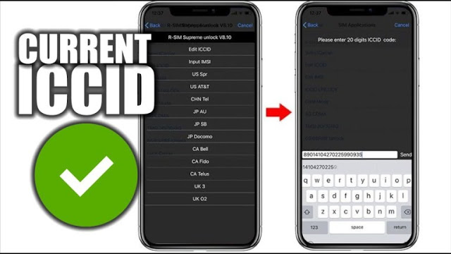 Get the latest ICCID Code for iOS 14.7.1 and iOS15