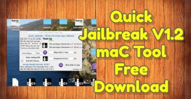 Quick Jailbreak V1.2 maC Tool Free Download