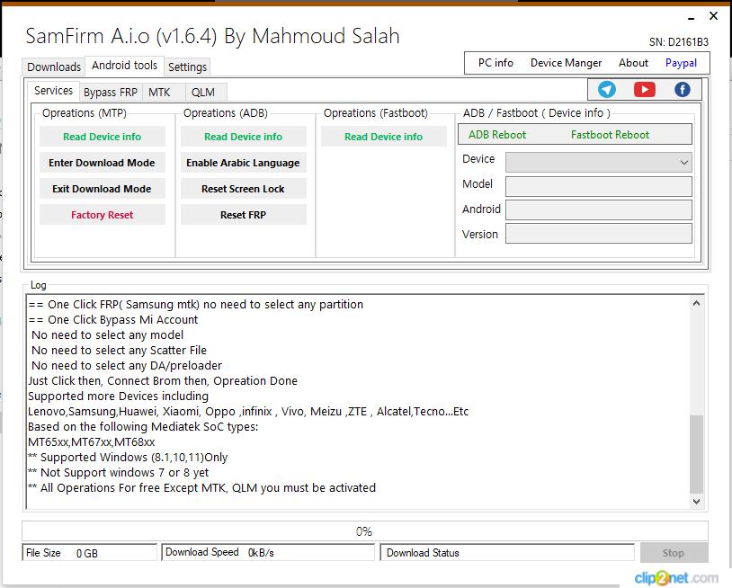 SamFirm Tool V1.6.4 Full Version Free Download