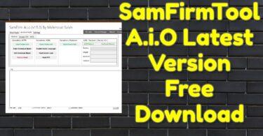 SamFirmTool A.i.O v1.5.4 Free Download