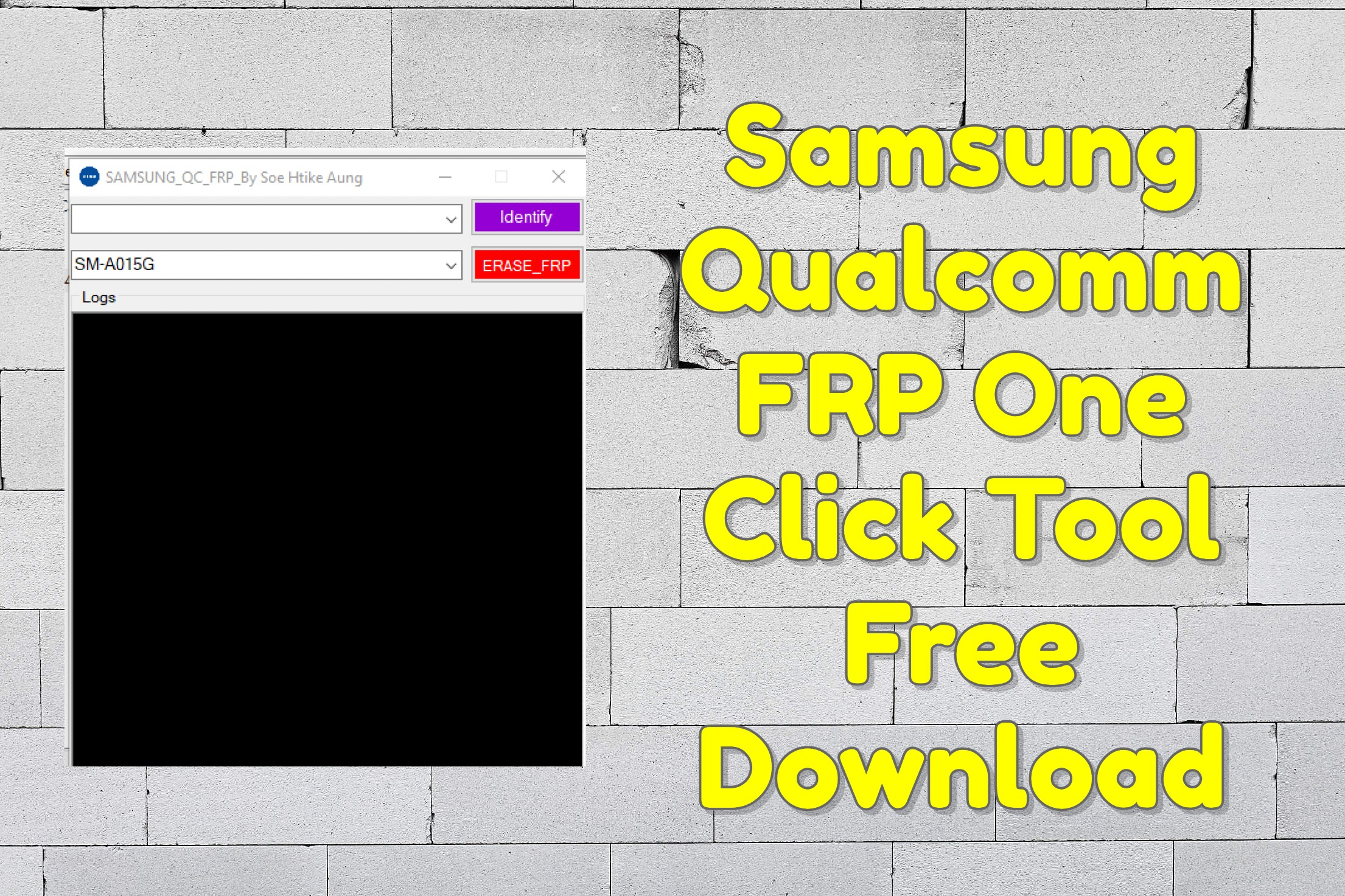Samsung Qualcomm FRP One Click Tool Free Download