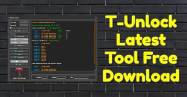 T-Unlock Latest Tool Free Download