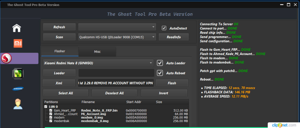Ghost Tool Pro Beta Qualcomm & MTK Supported Free Download