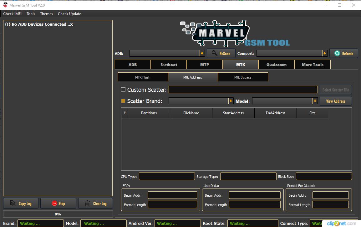 Marvel GSM Tool V2.0 | Qualcomm | MediaTek Free Download