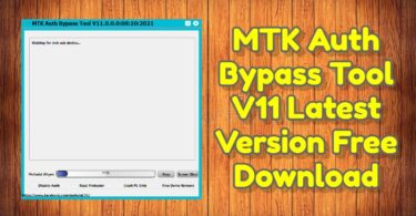 MTK Auth Bypass Tool V11 Latest Version Free Download