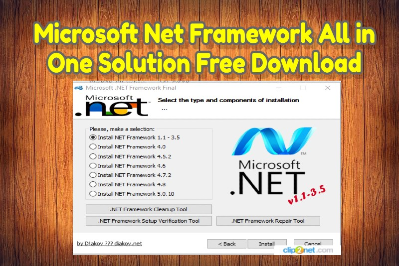 Microsoft Net Framework All in One Solution Free Download